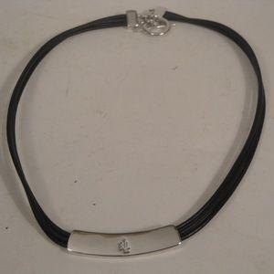 LRL Monogram Choker Necklace